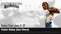GTA San Andreas - Walkthrough - Unique Stunt Jump #39 - Foster Valley (San Fierro)