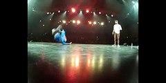 B boy Junior (France) vs Lil-G ( Urban Dance Showcase 2012 )