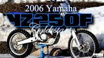 Yamaha YZ250F dirt bike starts on 1 kick after winter / Produced by Frez Productions