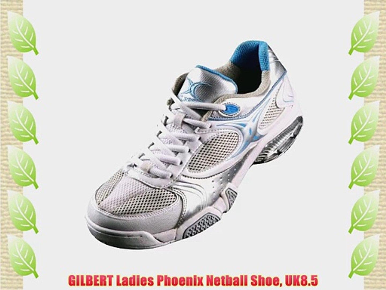 GILBERT Ladies Phoenix Netball Shoe UK8.5