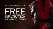 METAL GEAR SOLID 5 Gameplay Demo - Alternate Freedom of Infiltration Walkthrough (E3 2015) HD