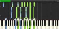 Saurom - Íntimos recuerdos (Piano Tutorial)(Synthesia)