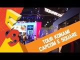 Tour pelos estandes: Konami, Capcom, Videogames antigos e Square Enix [BJ na E3 2013]