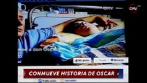 Caso de esforzado padre que cuida a su hijo postrado despertó gran solidaridad - CHV Noticias