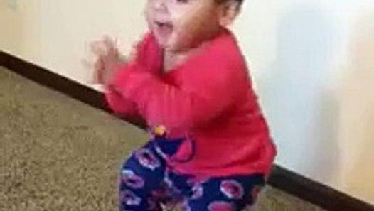 Baby dancing to rap music :) - video dailymotion