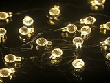 New M&T TECH 20 LED Outdoor Christmas Lights Solar Powered String Fairy Lights for T Top