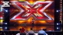 MARIANA ROCHA - FACTOR X - AUDIÇÃO PGM 03 - 2013