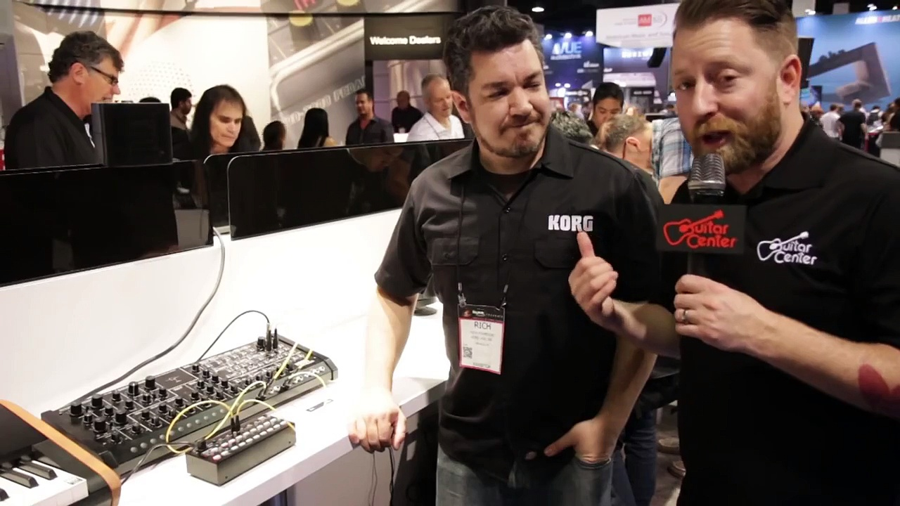 Guitar Center New from NAMM 2015 – Korg SQ-1 Step Sequencer & MS-20M Analog Synthesizer