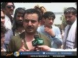 پشاور، عوام کا شدید لوڈشیڈنگ کے خلاف احتجاج