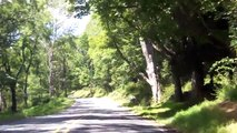 Driving Down  A Country Road - Old Mine Road, NJ - Delaware Water Gap - 2012