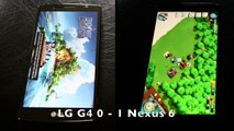 LG G4 vs Nexus 6 : speed-test