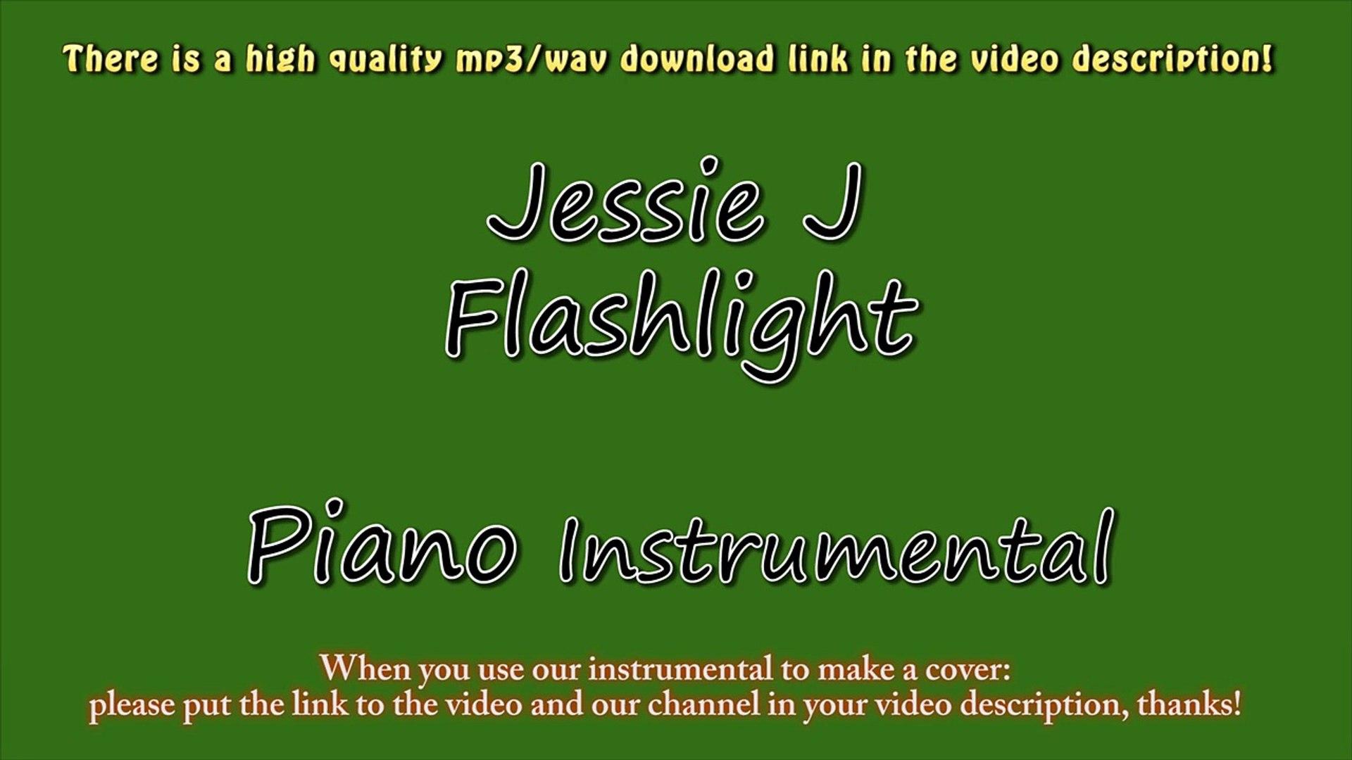 Jessie J - Flashlight (Piano Instrumental) - Pitch Perfect 2 - Karaoke