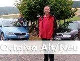 Vergleich: Skoda Octavia I vs. Octavia 2015   Fahrbericht   Deutsch   HD