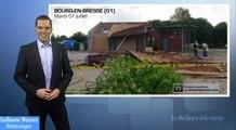 Orages: tornade dans l'Ain ?