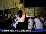 Procesión de los penitentes en Taxco, México