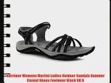 Karrimor Womens Martini Ladies Outdoor Sandals Summer Casual Shoes Footwear Black UK 6