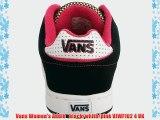 Vans Women's Addie   black/white/pink VJWF102 4 UK