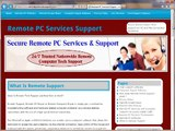 Remote Online Computer Repair   Remote Mac PC Support Services