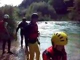 Soccorso in acqua - Canoa Club Sacile - Fiume Meschio