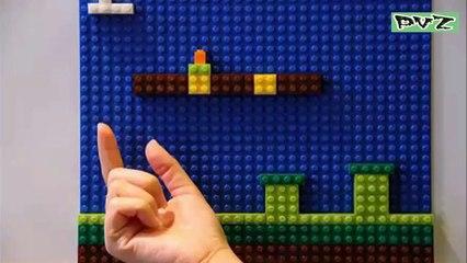 Plants in Bricks & Blocks Creative Idea !