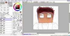 Como Fazer Cartoon de Sua Skin ♣Paint Tool Sai♣