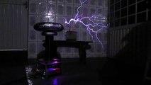Sandstorm by Darude Meets Musical Tesla Coil (Bobina de Tesla)
