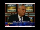 Colin Powell introduce you to a new concept : the dhimmitude