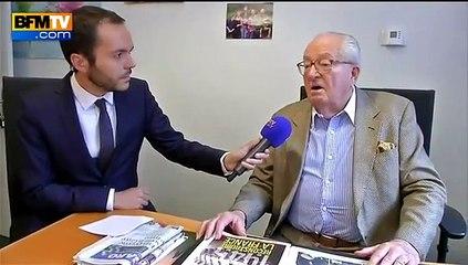 """FN : Jean-Marie Le Pen se dit victime d'une """"vague d'épuration"""""""