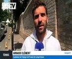 """Arnaud Clément - Wimbledon : """"Deux très gros défis"""""""