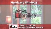 Hurricane Windows Jupiter, FL - Paradise Exteriors