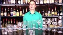 Bartending Cocktail Drink Glasses