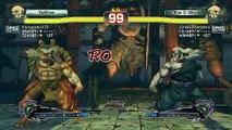 Ultra Street Fighter IV battle: Gouken vs Gouken