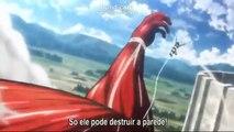 超大型巨人戦闘シーン&鎧の巨人登場シーン
