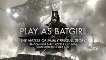 "Batman Arkham Knight - ""Batgirl DLC"" Official Game Trailer (2015) HD"