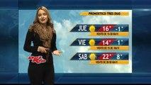 Las Noticias del Cielo - El clima con Zury Espino (25 de Febrero del 2015)
