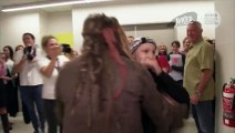 Le capitaine Jack Sparrow rend visite aux enfants malades en Australie