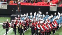 """Honda Battle of the Bands """"2012"""" Drum line Section Showcase"""