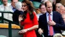 Duke and Duchess of Cambridge enjoy the tennis at Wimbledon