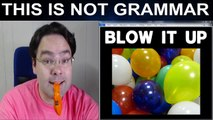Blow Up Blow Verbs Phrasal Verb Lesson Phrasal Verbs Inflate Verbs Phrasal Verbs Up