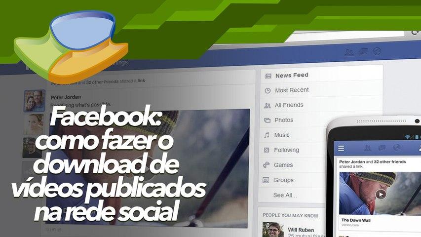 Facebook: como fazer o download de vídeos publicados na rede social - Baixaki