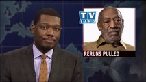 SNL Weekend Update 2014 Bill Cosby Allegations: Michael Che forgives Dr. Huxtable like Kramer?
