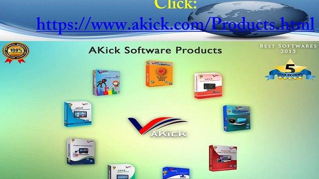 AKick Softwares Review - Call 1800-813-3481