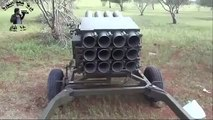 Syrian Rebels new weapon , clearly from Croatia - 12x128 mm MLRS RAK-12