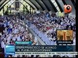 Papa Francisco concluye exitosa visita a Ecuador