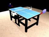 Table Tennis/ ping pong (animation)