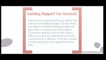 The Mentoring Journey - Being Mentored - What is Mentoring