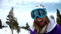 Electric's Jamie Anderson - Sierra At Tahoe Snowboarding