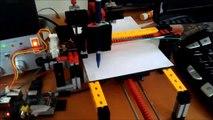 Selbstgebauter Plotter - Raspberry Pi