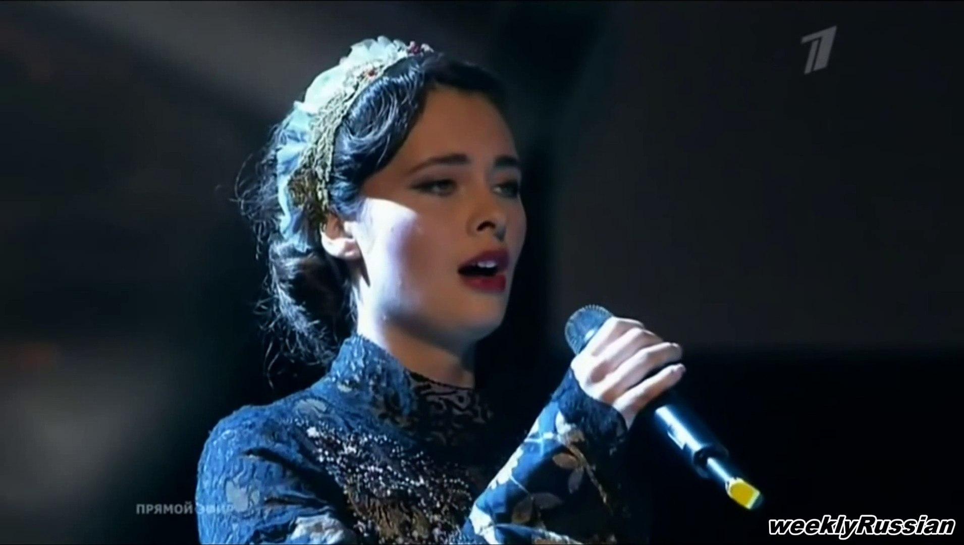 Пелагея - Под Ракитою _ Black Raven Russian Song with English Subtitles   love  romantic romance son