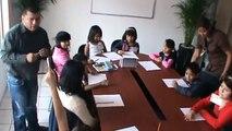 2013 01 19 Taller literario para niños en la casa de gestión de Nelly Vargas
